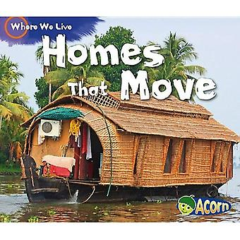 Huizen die verplaatsen