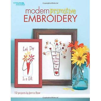 Modern Primitive Embroidery (Leisure Arts)