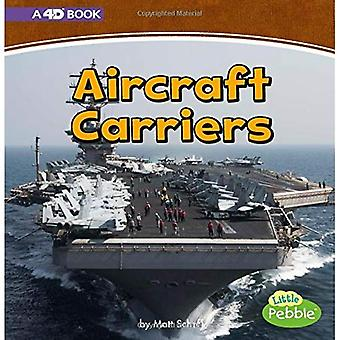 Aircraft Carriers: A 4D Book (Mighty Military Machines)