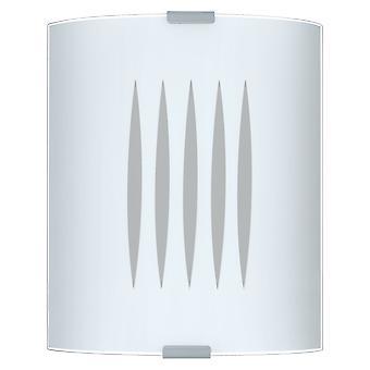 Eglo - Grafik 1 lichte muur lichte gematteerde glazen EG83132