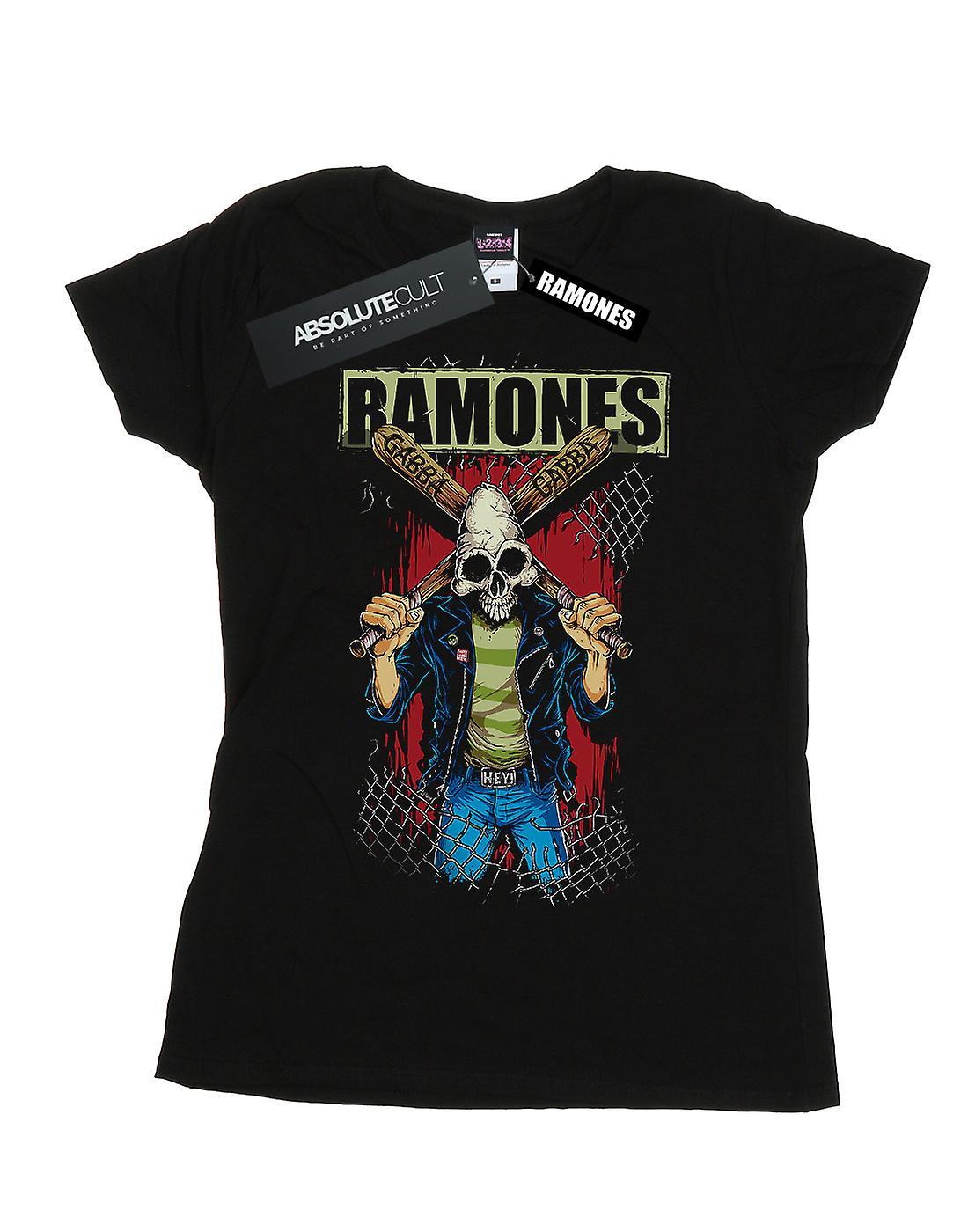 Ramones Women's Gabba Gabba Hey Pinhead T-Shirt