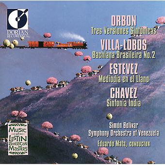 Orbon/Villa-Lobos/Estevez - Orbon; Villa-Lobos; Estevez; Chavez: Latin American Masters [CD] USA import