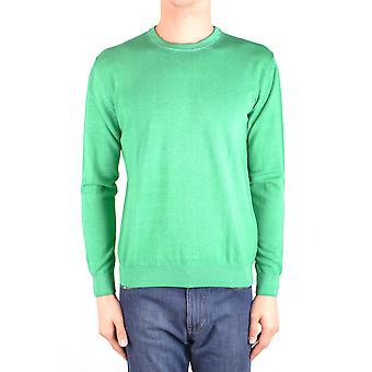 Altea Ezbc048112 Men's Green Cotton Sweater