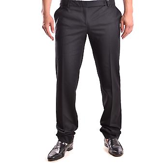 John Richmond Ezbc082027 Men's Black Wool Pants