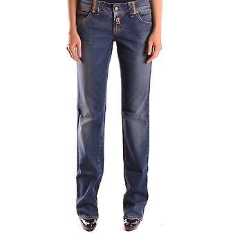 John Galliano Ezbc164023 Women's Blue Denim Jeans