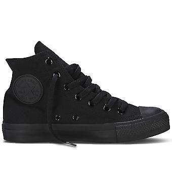 Converse Chuck Taylor All Star HI All Black M3310 universeel het hele jaar vrouwen schoenen