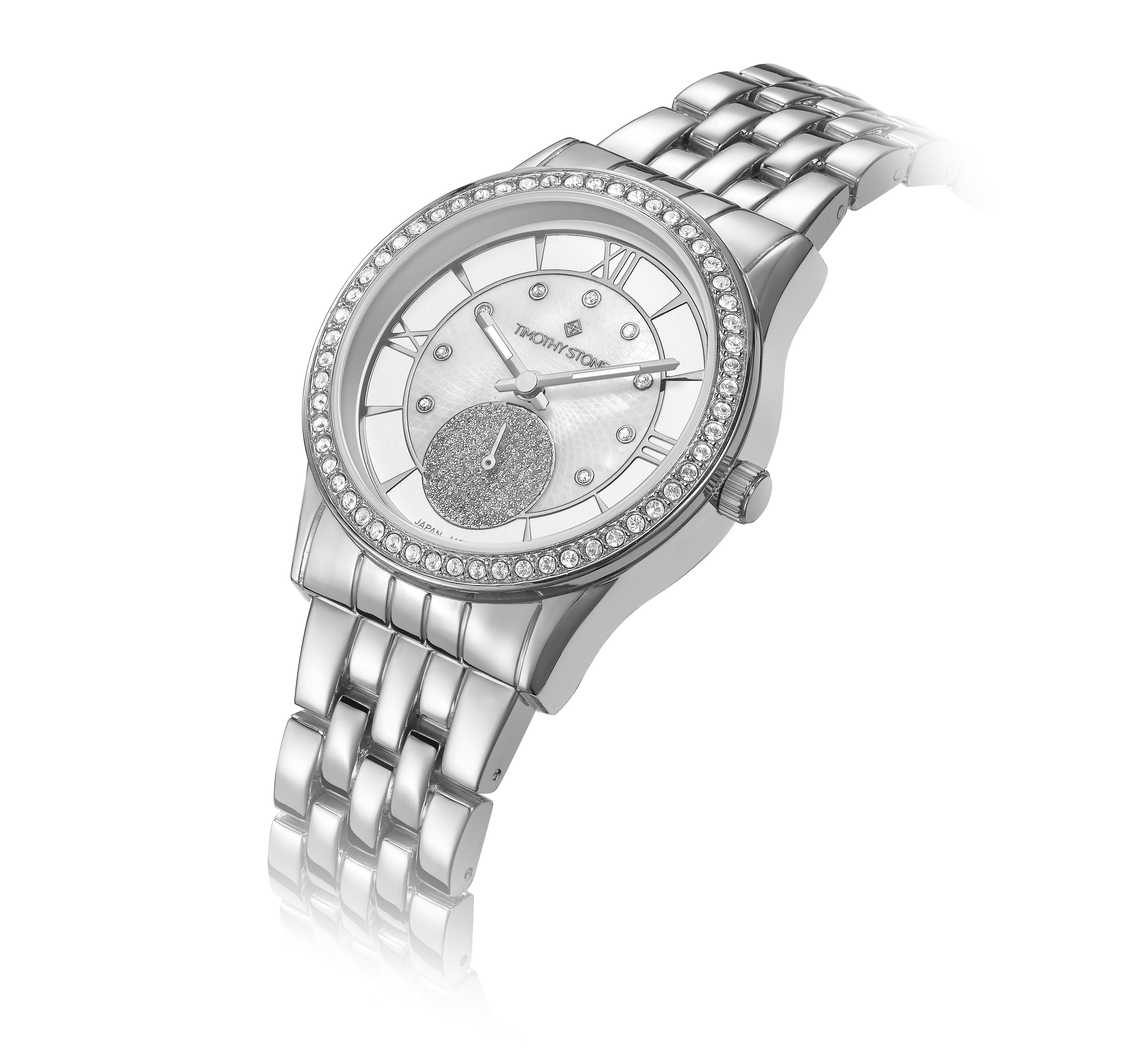 Timothy Stone Women�s HUSTON Silver Watch