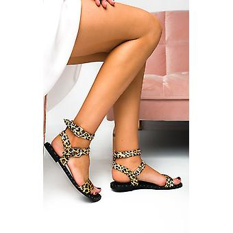 IKRUSH femei Callie dublu cataramă cu sandale