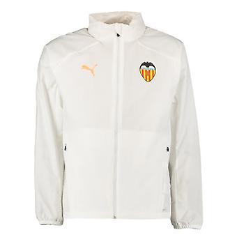 2019-2020 Valencia Puma Rain Jacket (White)