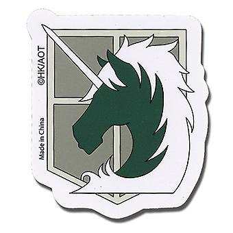 Sticker - Attack on Titan - New Military Police Regiment Anime Toys ge55296
