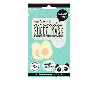 Oh K! Sheet Face Mask Avocado Super Silky 20 Ml For Women