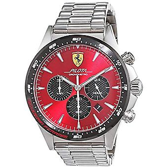 Scuderia Ferrari Chronograph quartz men's Watch with stainless steel band 830619