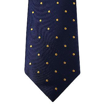 David Van Hagen Polka Dot slips - Navy/guld