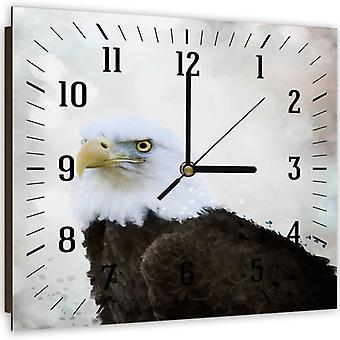 Reloj decorativo con imagen, el águila