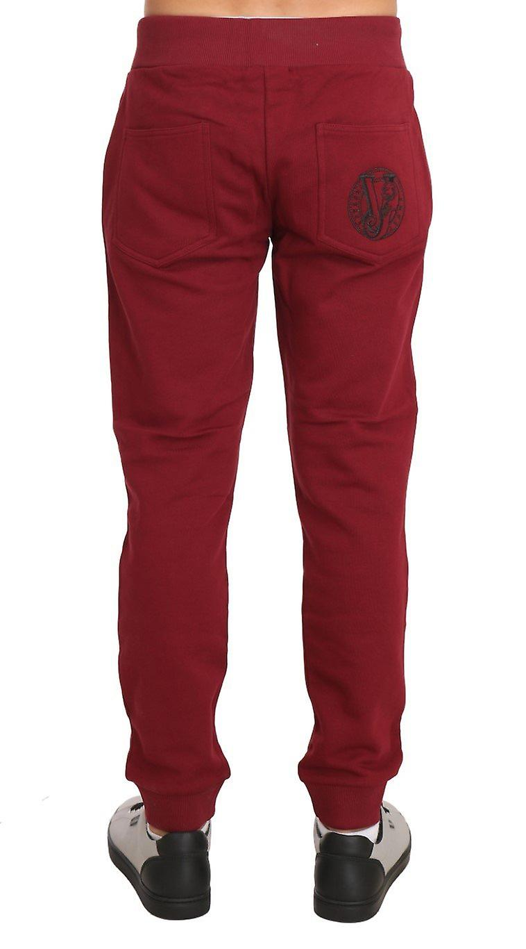 Training Sport Red Cotton Trousers