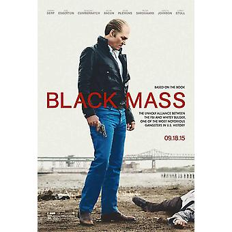 Black Mass Original Movie Poster Double Sided Advance
