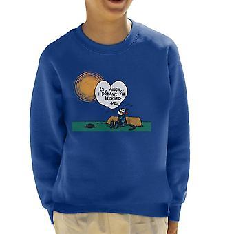 Krazy Kat Sunny Day Kid's Sweatshirt
