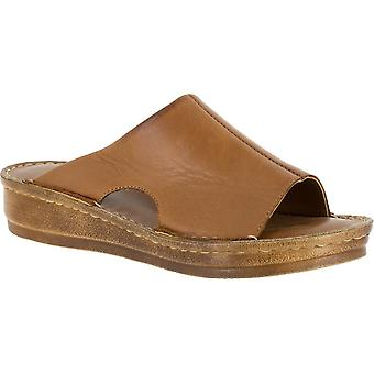 Bella Vita Womens Vita Mae Open Toe casual slide sandálias