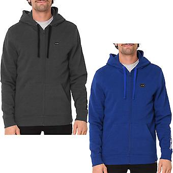 Animal Mens Almadies Full Zip Hooded Jacket Hoodie Top