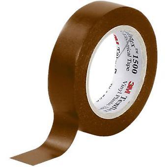 3M FE-5100-8935-5 Electrical tape Temflex 1500 Brown (L x W) 10 m x 15 mm 1 Rolls