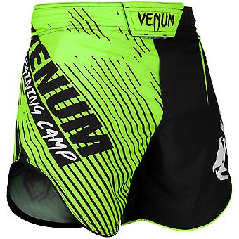 Venum Trainingslager 2.0 MMA Fight Shorts - Schwarz/Neon Gelb
