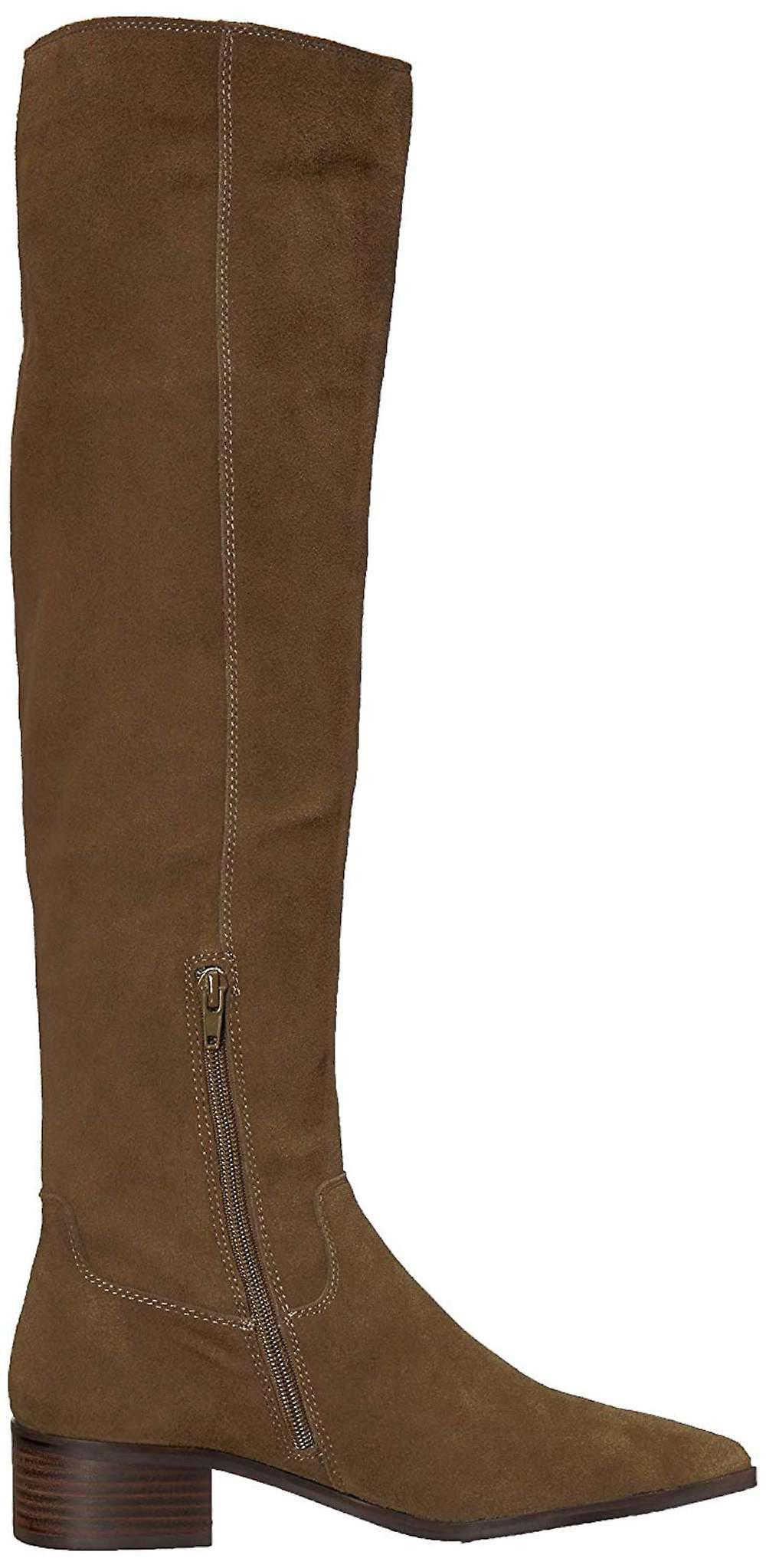 Lucky Brand Womens Kitrie Fabric Wskazał Toe Knee High Fashion Boots tZ2sW
