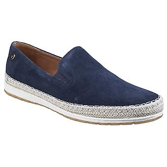 Gabicci Mens Ryder Espadrille Casual Shoe Navy