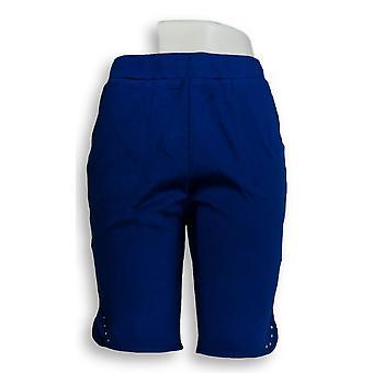 Quacker Factory Women's Shorts Sparkle & Shine Blue A306333