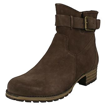 Dames Clarks Smart Ankle Boots Marana Amber