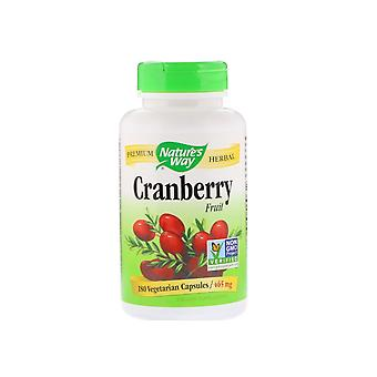 Fruit de canneberge 465 mg (180 capsules végétariennes) - Nature-apos;s Way