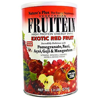 Fruitein - High Protein Energy Shake - Exotische rote Früchte (576 Gramm) - Nature's Plus