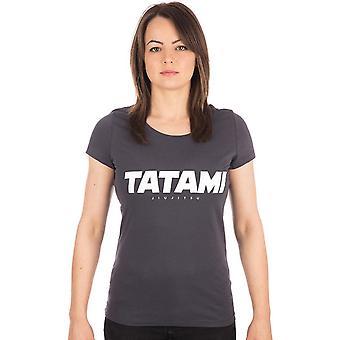 Tatami Fightwear Women-apos;s Essential T-Shirt - Ink Gray