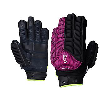 Kookaburra 2018 Siege Field Hockey Hand Guard Glove Protection Purple/Black