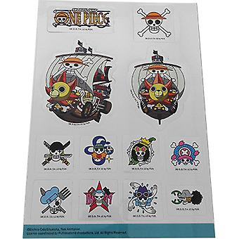 Sticker - One Piece - Thousand Sunny & Jolly Rogers Set Toys New Licensed ge55525