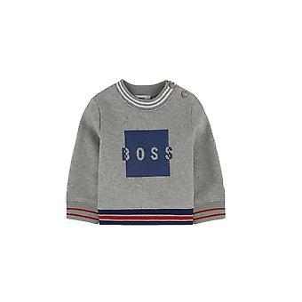 Hugo Boss Boys Hugo Boss Infants Grey Sweatshirt