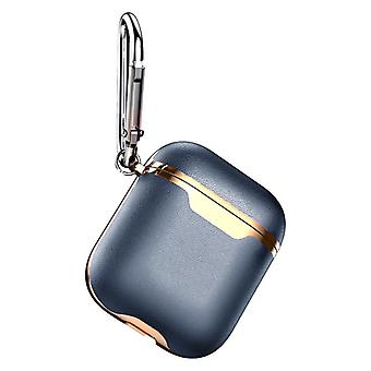 Protection case for AirPods-Etui - Blue / Gold