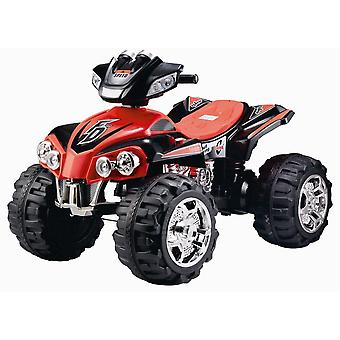 RideonToys4u 12V Electric Ride On Quad Bike ATV Red Ages 3-8 ans