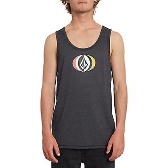 Volcom Vast Heather Sleeveless T-Shirt in Heather Black