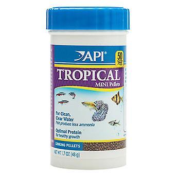API Tropical Mini-Granulado 100  ml (Fish , Food , Cold Water)