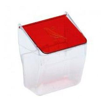 Yagu Feeder With Red Cover (Birds , Feeders & Water Dispensers , For Cages)