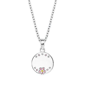 Princess Lillifee Kids Necklace Silver Flower Girl Engravable 2027908