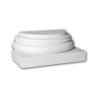 Pied de demi-colonne Profhome 417101
