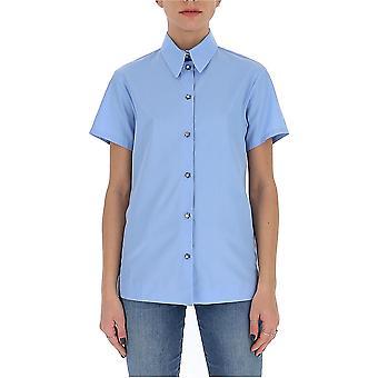 N°21 G05106056264 Women's Light Blue Cotton Shirt
