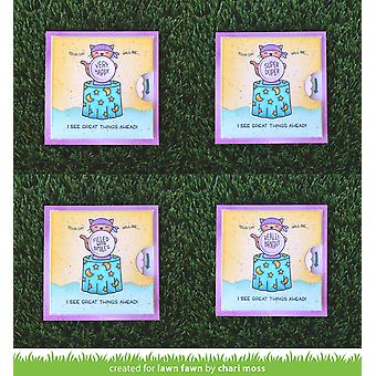 Lawn Fawn Fortune Teller Tabby Clear Stamps