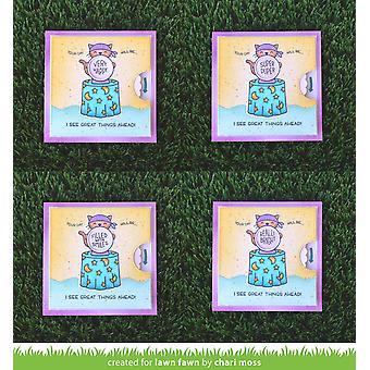 Lawn Fawn Tydliga Frimärken 3&X4