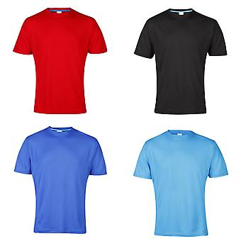 AWDis Cool Mens SuperCool Crew Sports Performance T-Shirt