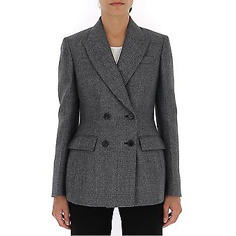 Prada P515hljhf0480 Damen's Graue Wolle Blazer