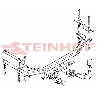Automatyczny odłączany pasek holowniczy Steinhof (poziomy) dla Hondy JAZZ 2008-2015