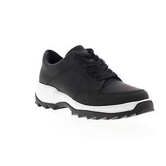 Camper Helix  Womens Black Suede Lace Up Low Top Sneakers Shoes