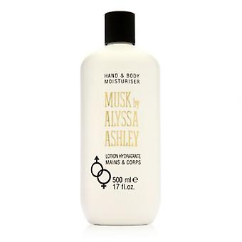 Alyssa Ashley White Musk Körper 500ml